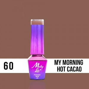 60 Lakier Hybrydowy Molly Lac 5ml My Morning Hot Cacao