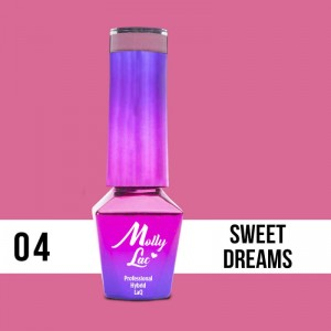04 Lakier Hybrydowy Molly Lac 5ml Sweet Dreams